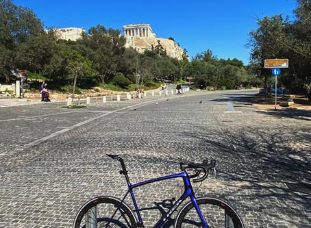 Riding in Athens : Sounio