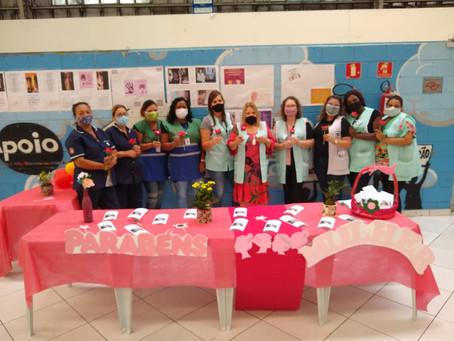 NÚCLEO DE CONVIVÊNCIA BORACEA — Celebração Dia Internacional da Mulher