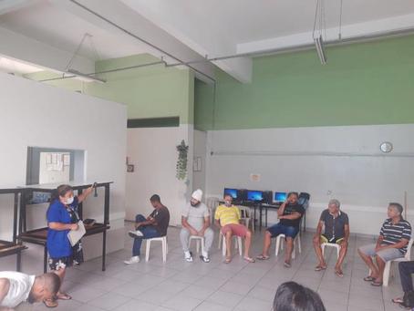 C A SANTO AMARO — Atividade Socioeducativa e Roda de Conversa
