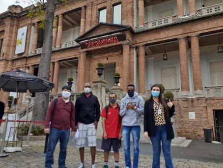 República Santa Cecília — Visita ao Museu da Pinacoteca