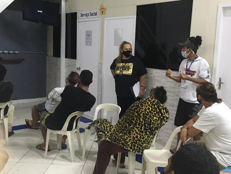 C A ALCÂNTARA MACHADO — Roda de conversa sobre hepatite