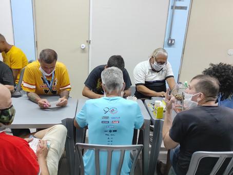 CA Santa Cecília — Jogo de bingo com acolhidos