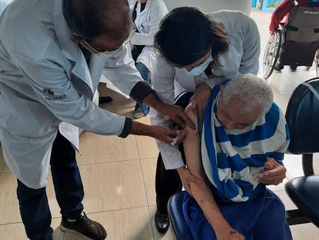 ILPI Jaçanã — Imunização do vírus da Gripe H1N1