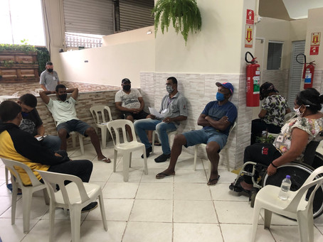 """CA ALCÂNTARA MACHADO – Atividade SocioEducativa com o tema """"perdão"""""""