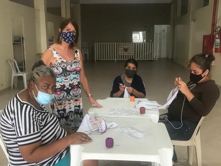 CA Jaçanã — 6ª e 7ª Aula de crochê