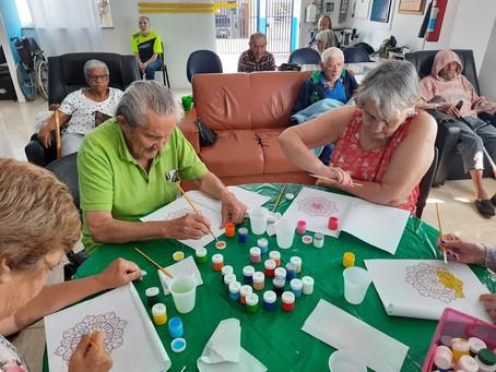 """ILPI Jaçanã – Atividade Socioeducativa """"Estimulação cognitiva"""""""