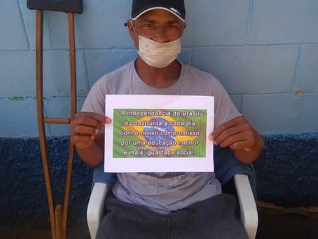 CA Grajaú — Roda de conversa sobre a Independência do Brasil