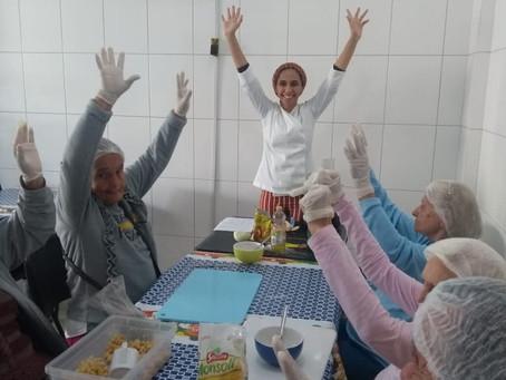 ILPI Jaçanã - Oficina de Culinária: Torradas de Grão de Bico