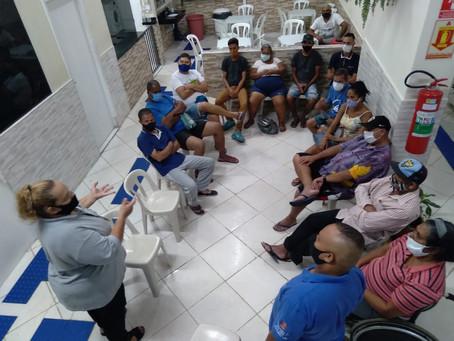C A ALCÂNTARA MACHADO — RODA DE CONVERSA SOBRE TUBERCULOSE
