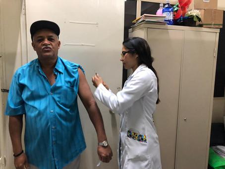 C A Jaçanã - Vacinação contra o Sarampo