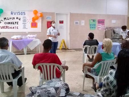 CTA Brás — Dia Mundial de Combate à Tuberculose