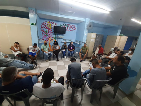 C A SANTA CECÍLIA — Assembleia do mês e debate interativo
