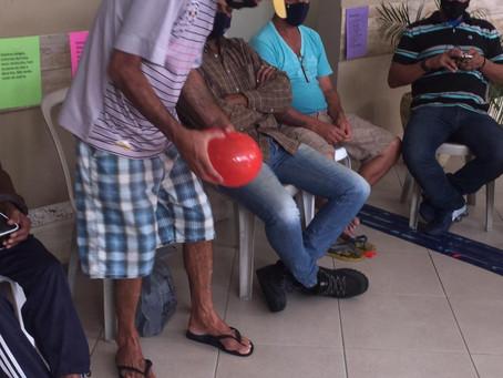 CA Jaçanã — Atividade lúdica com balões