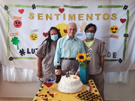 ILPI Jaçanã — Comemoração de aniversariantes de abril