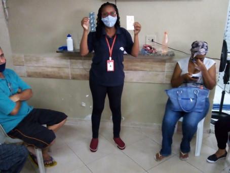 CA Jaçanã — Roda de conversa sobre infecções sexualmente transmissíveis