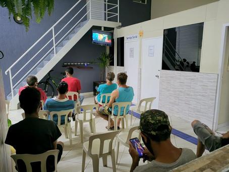 CA Alcântara Machado — Exibição de filme