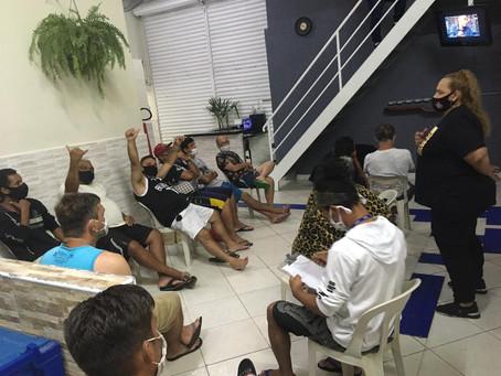 CA ALCÂNTARA MACHADO — Roda de conversa motivacional