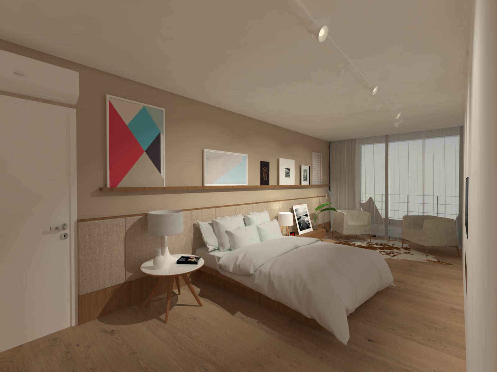 casa coracini | dormitório