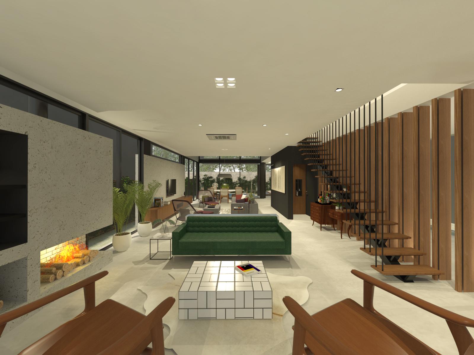 casa coracini | sala de estar