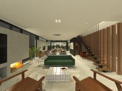 casa coracini   sala de estar