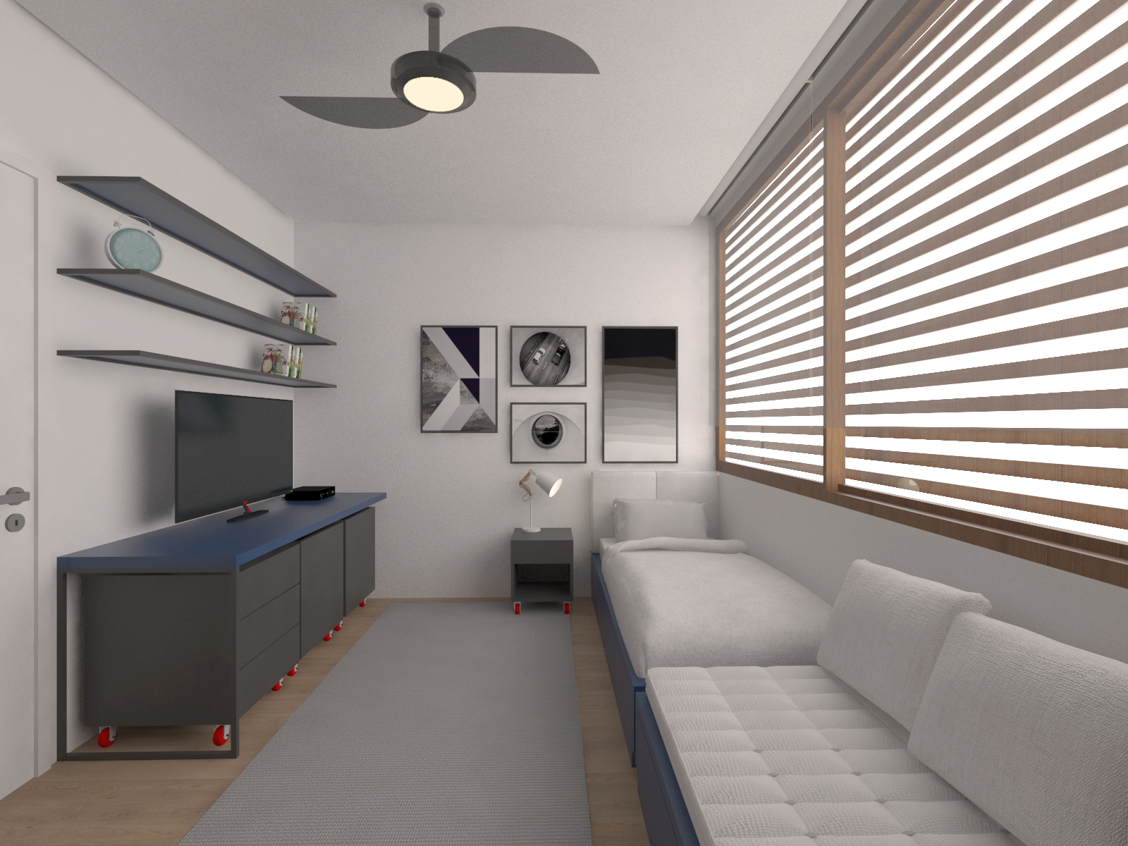 casa chassot | dormitório do menino