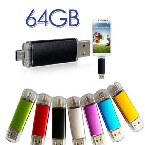 64gb OTG USB Flash Drive Memory Pen Drives