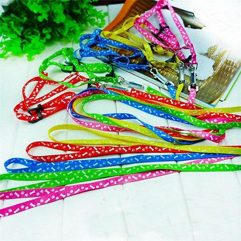 Nylon Pet Dog Puppy Cat Animals Leash With Harness