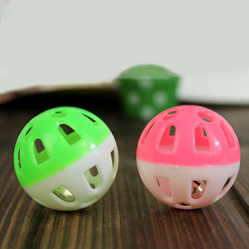 Funny Small Plastic Toy Exercise Ball Pet Cat Toys