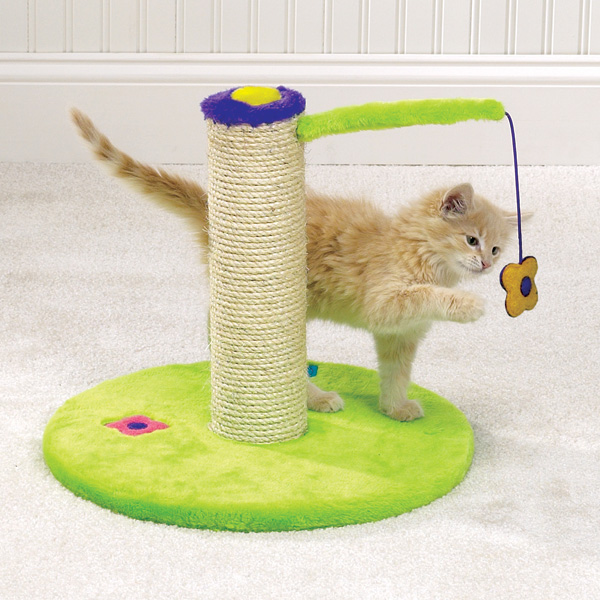 Flower Power Cat Scratch Post.jpg