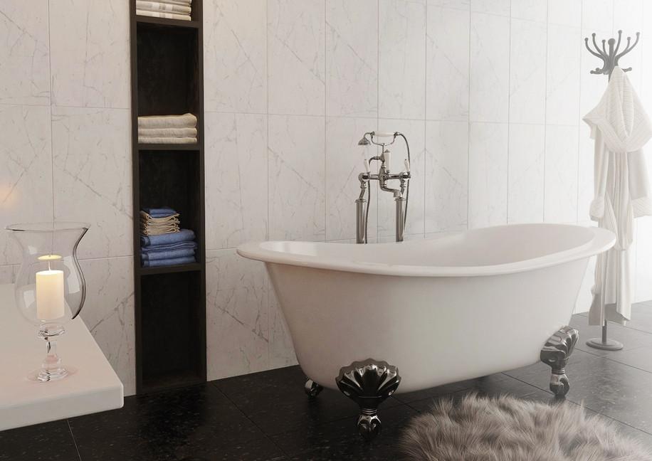 אמבטיה מפוארת