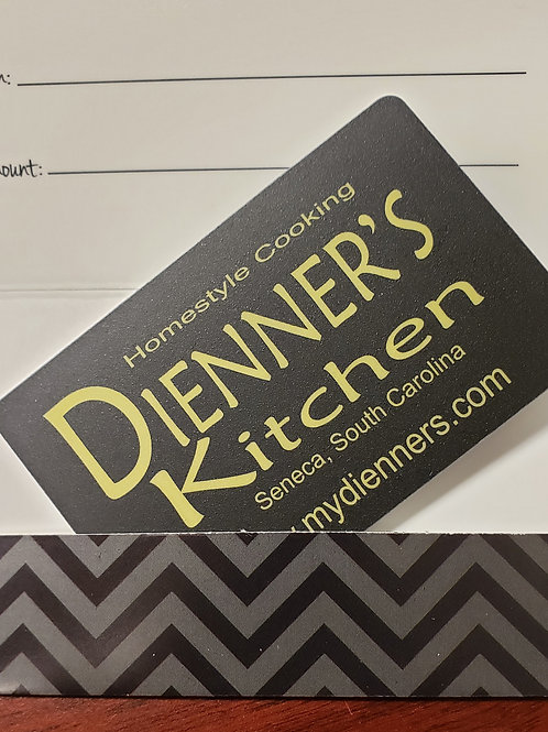 $100 Dienners Kitchen Gift Card