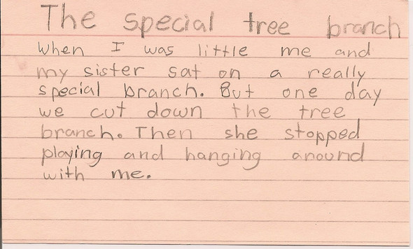 The special tree branch