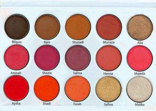 Znalezione obrazy dla zapytania blush tribe mallika eyeshadow palette