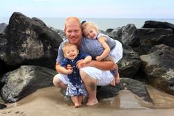 Kids and Dad photos