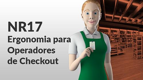 NR17 - ERGONOMIA PARA OPERADORES DE CHECKOUT