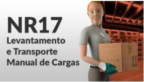 NR17 - LEVANTAMENTO E TRANSPORTE DE CARGAS