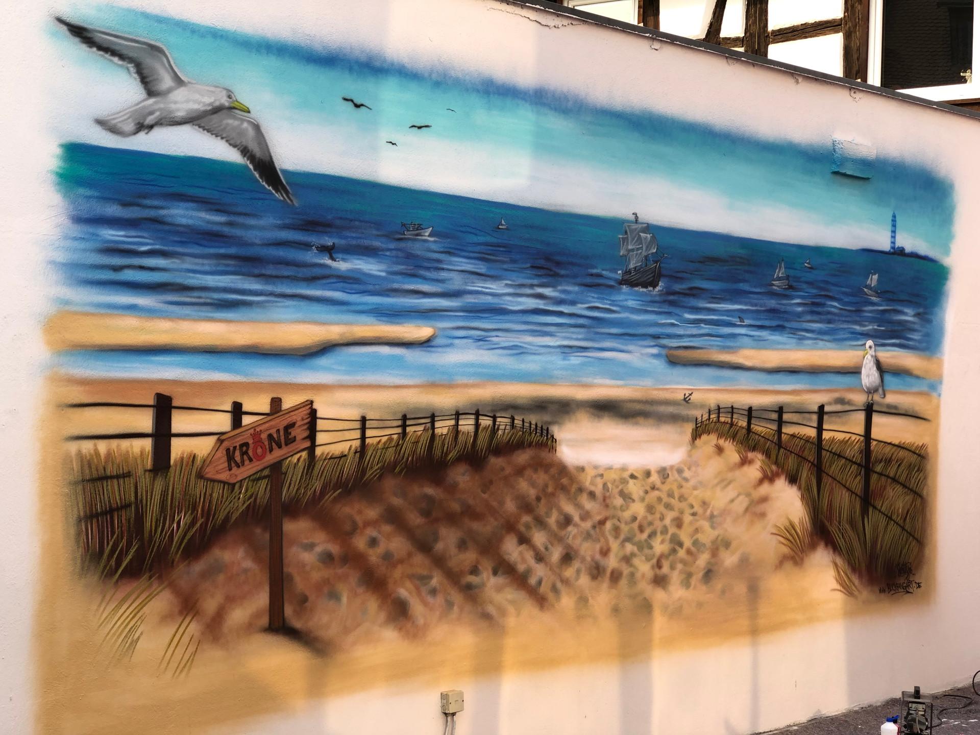Strand Graffiti