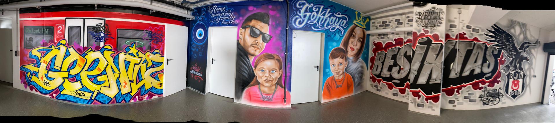 Garagen Gestaltung Graffiti