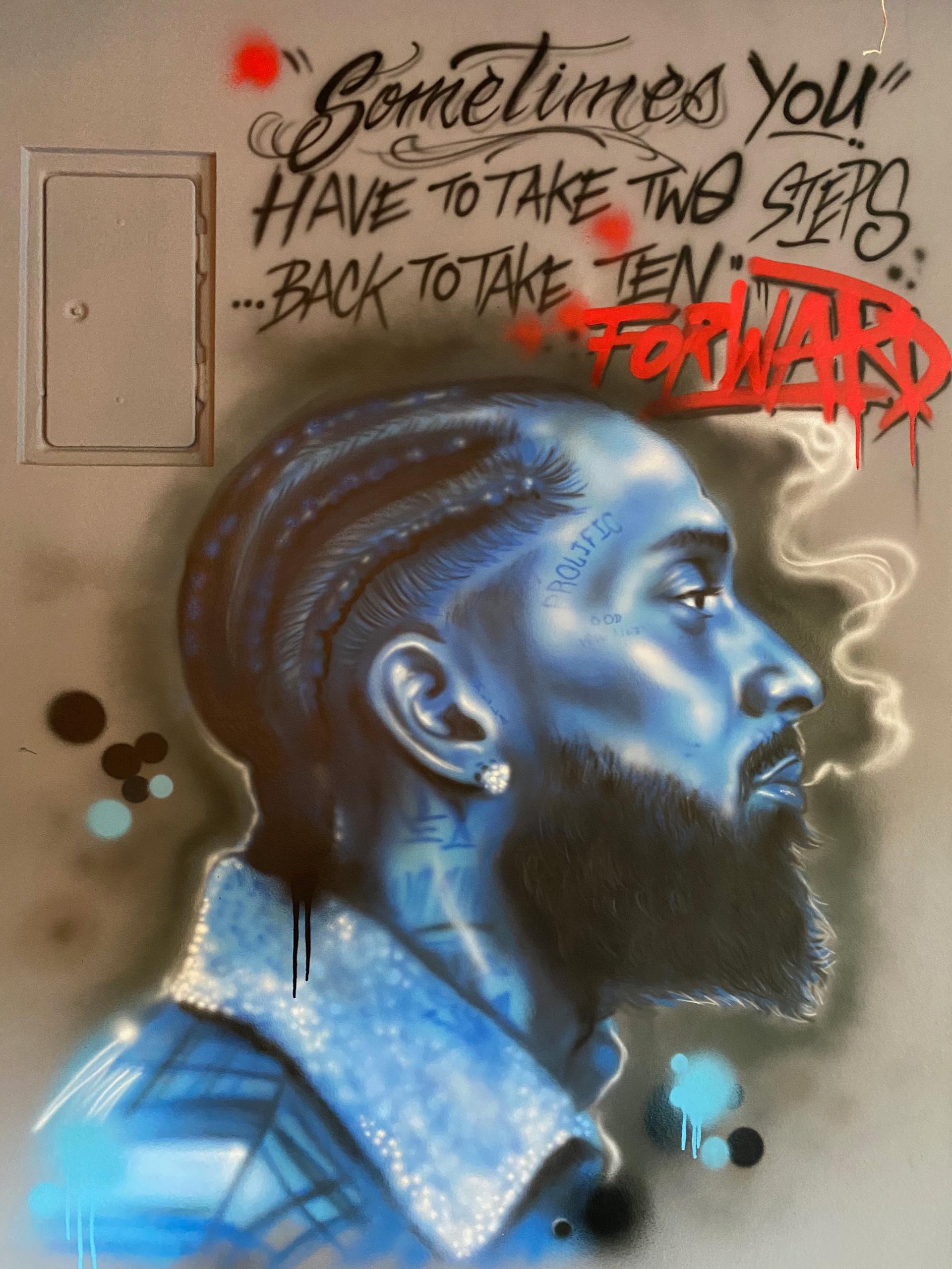 Nipsey Hussle Graffiti
