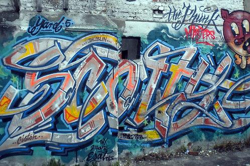 Graffiti Poster A1 by SCOTTY 76