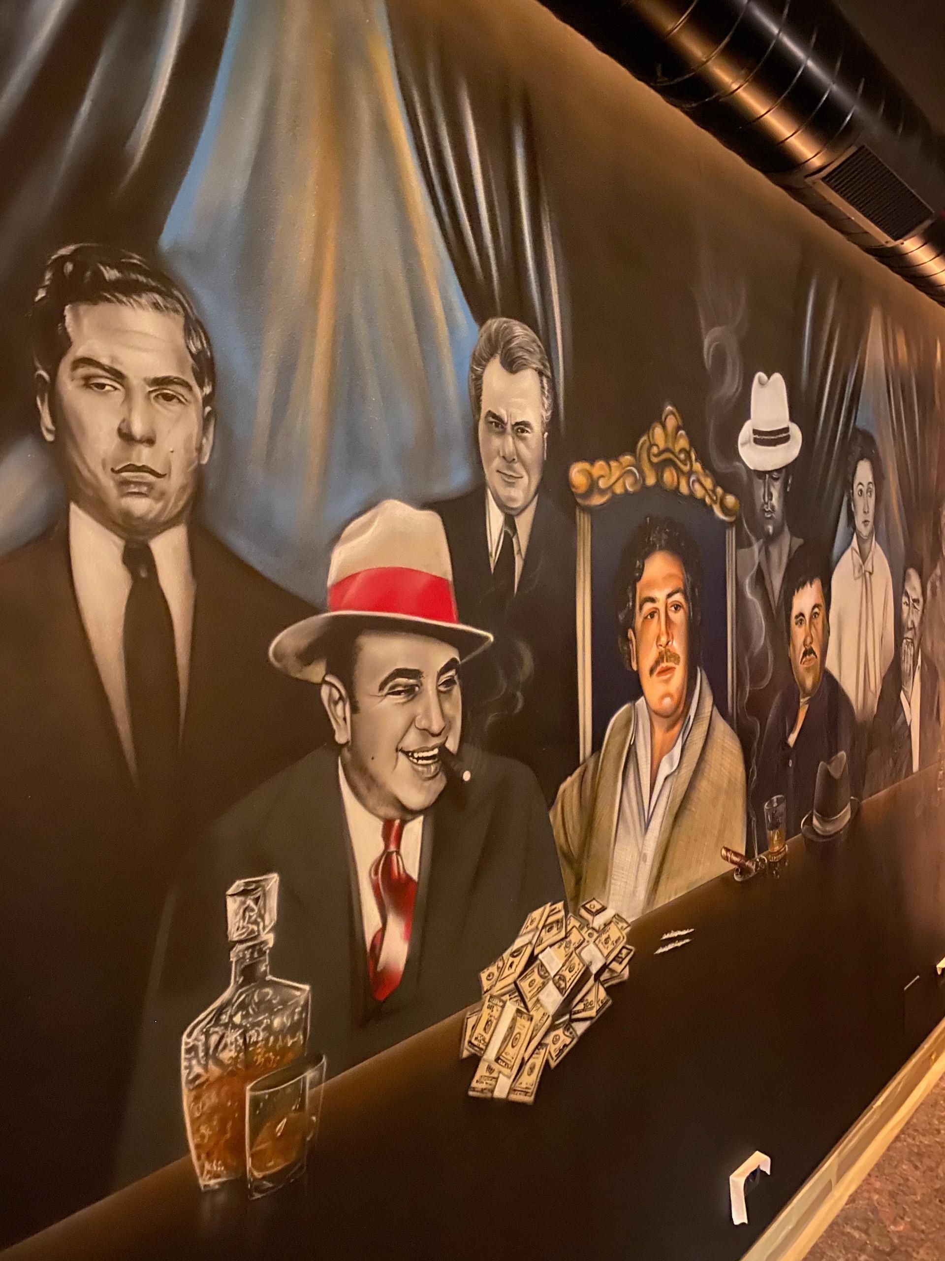 Mafia Gang - Narcos Airbrush