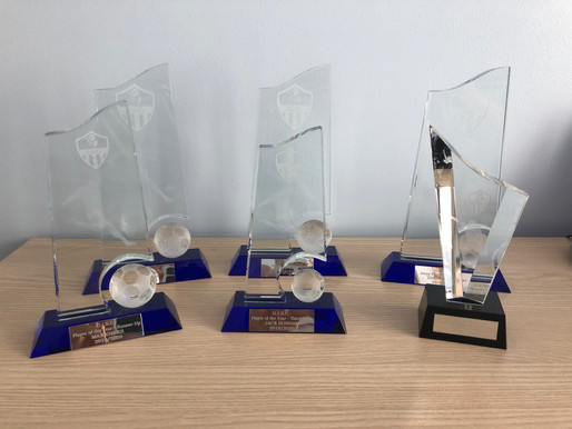 Player of the Year Trophies 2019/2020