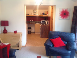 Chalet: Lounge and Kitchenette