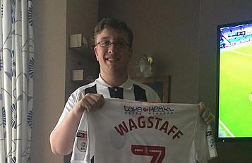 Scott Wagstaff Signed Shirt Winner