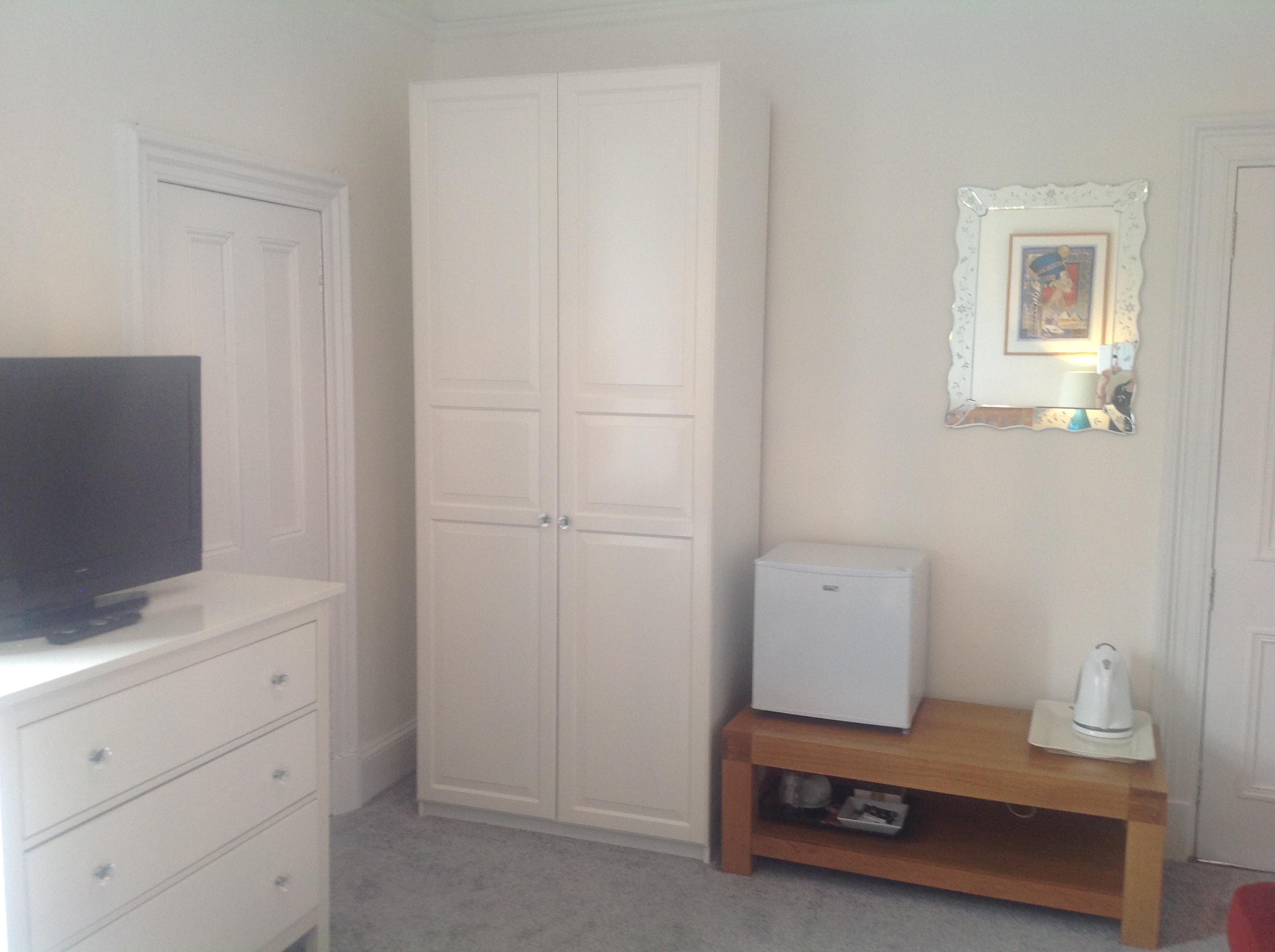 Family Room TV/Storage