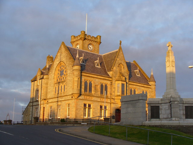Lerwick Town Hall / Shetland Council