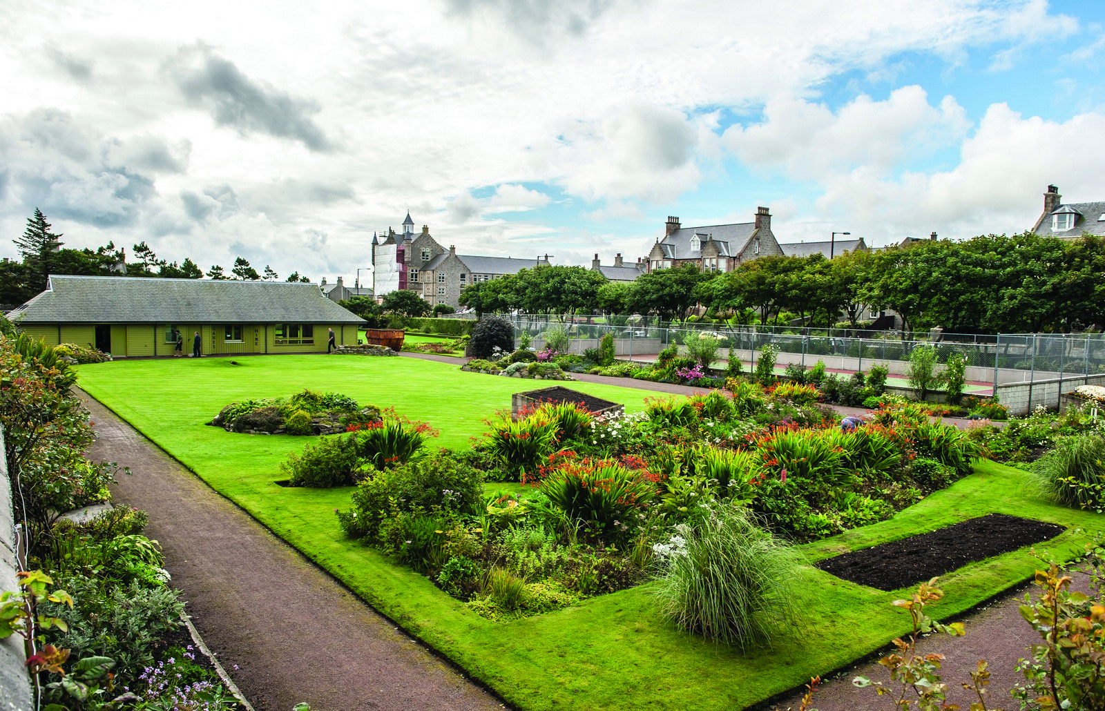 Flower Park in Lerwick