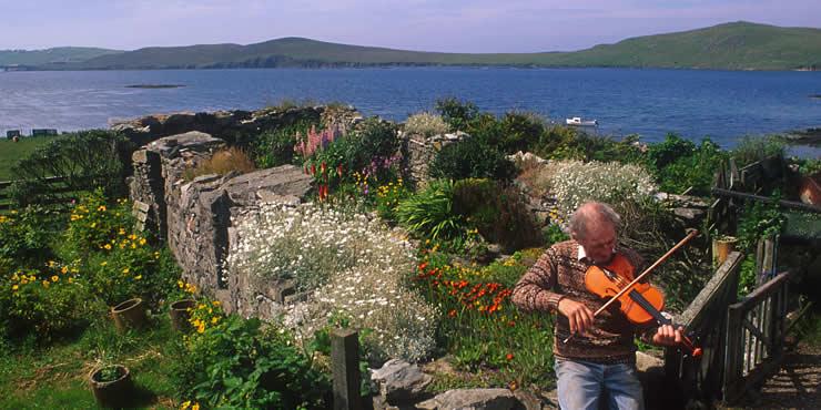 Garden on the Island of Tondra