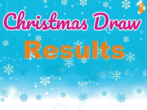 Christmas Draw Results 2019