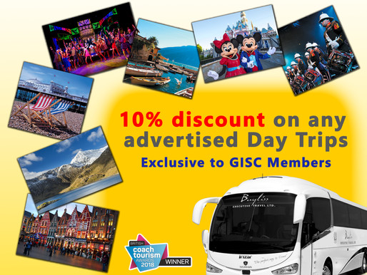 Bayliss Holidays and Day Trips Discount